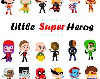 Superhero clipart etsy voltagebd Image collections