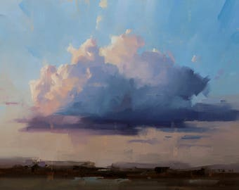 Sunset Clouds - Art Print
