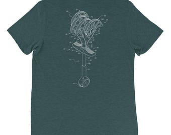 You cam here often? Tri-blend Tee