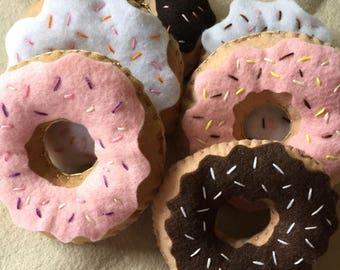 Felt Donuts Half Dozen