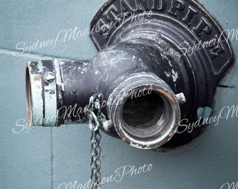 """Urban Photography Digital Download File- """"Standpipe"""""""