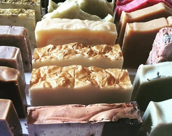 3 SOAPS are BETTER than 1! - Pick three organic soaps and save!