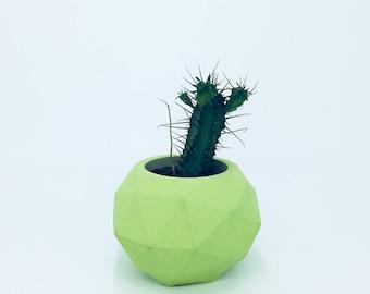 Concrete planter, Multi colour, Cement planters, Gift ideas