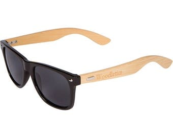 Woodletics Bamboo Frame Sunglasses