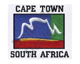 Cape Town - Machine Embroidery Design, South Africa - Machine Embroidery Design