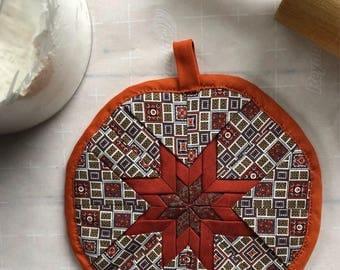 Handmade Star Design Pot Holder/Hotpad