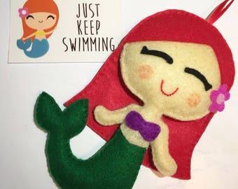Kawaii Mermaid Hanging Plushie