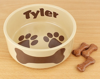 Personalised Pet Bowl | Pets Food Bowls | Gifts for Pets | Gifts for Pet Lovers
