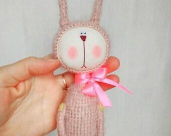 Crochet bunny toy Crochet rabbit toy Amigurumi bunny toy Amigurumi rabbit toy Stuffed bunny toy Stuffed rabbit toy Little nutbrown hare