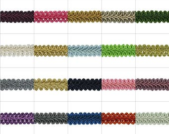 Expo 5 yards of Alice Classic Woven Braid  Trim