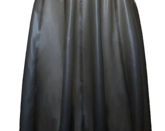 Full Latex Knee Length Skirt