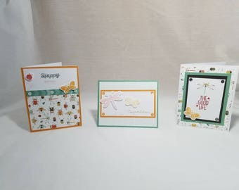 Happy Bugs Greeting Card Set