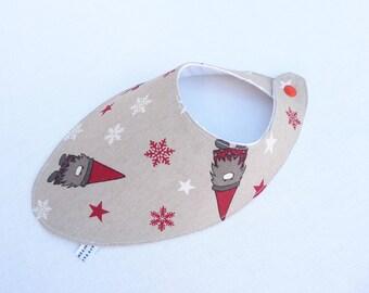 bavoir foulard original 0/24 mois «père Noël «