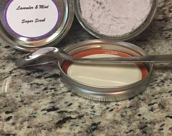 Lavender & Peppermint Sugar Scrub
