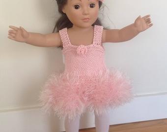 Ballerina tutu, legwarmers, headband for 18 inch doll