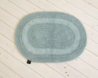 Cotton Bath Mat Reversible 100% cotton