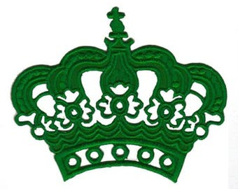 Green Crown Patch W.Ch.Patch