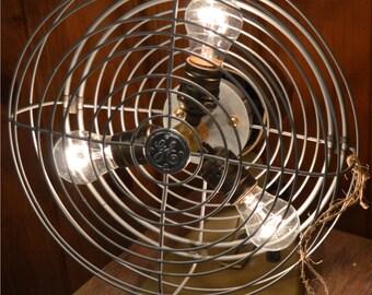 Vintage GE Fan Light