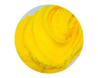 Mango Sorbet - 12 oz and 4 oz Scented Cloud Dough Slime!