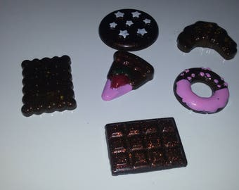 Resin treats set