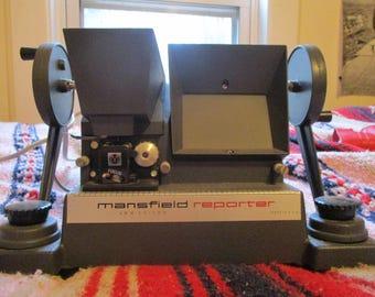 Mansfield Reporter 8mm film editor