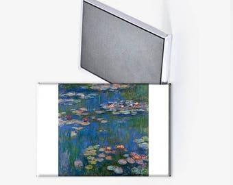 Claude Monet Water Lilies Refrigerator Magnet 2x3