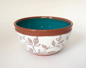 Hand Thrown Small Pottery Bowl