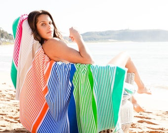 Avoca - Large Beach Towel - Turkish Cotton
