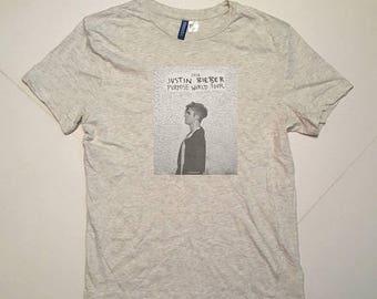 LAST DAY 35% OFF Justin Bieber Purpose Tour H&M T Shirt / men Size M