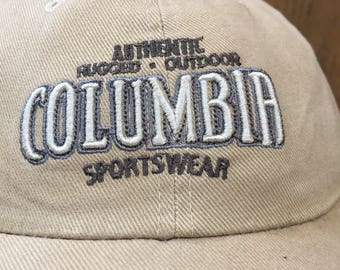 Rare Vintage Authentic Columbia Sportwear Hat Cap Snapback