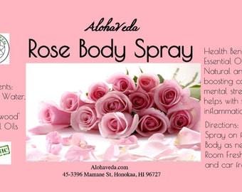 Rose Body Spray