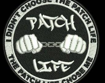 "Patch life patch ""GITD"""