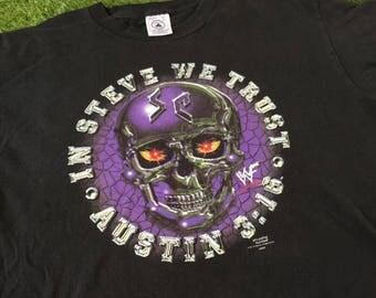 Free Ship 1998' Steve Austin 3:16 shirt