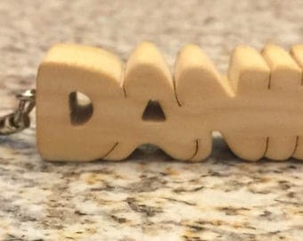 Key chains made to order.  You just give me the name and ill do the rest.
