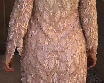 Vintage sequin gown