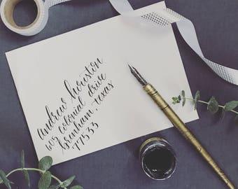 "Custom Calligraphy ""Katie"" Style"