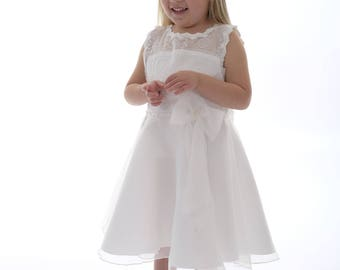 "Beautiful ""Emily"" dress perfect for a flower girl or Holy communion. Christening/party dress/baby dress/Girls dress/ kids clothes/baptism"