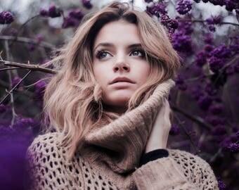 Photo Print-Purple Flower-Greta Larosa