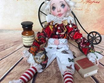 Boudoir doll Pierrot