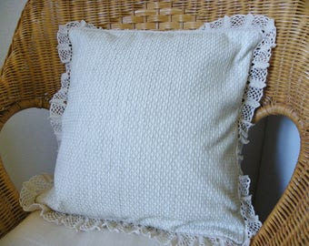 Decorative Pillow with lace