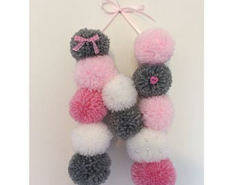 Made To Order Freestanding Pom-Pom Letter