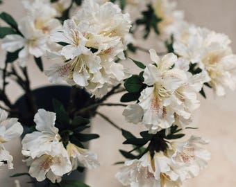 Artificial Rhododendron Flower Stem
