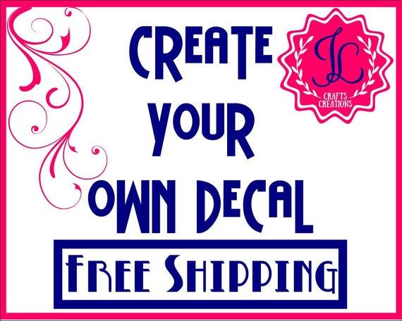 SALE Custom Vinyl Decal Yeti Monogram Decal Tumbler - Custom vinyl decals for tumblers
