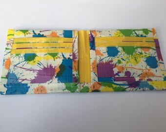 Duct tape wallet- bifold
