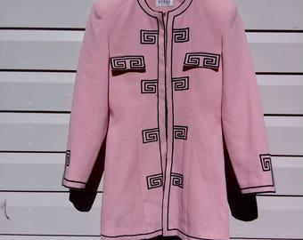 Pink 'Swirl' Retro Blazer