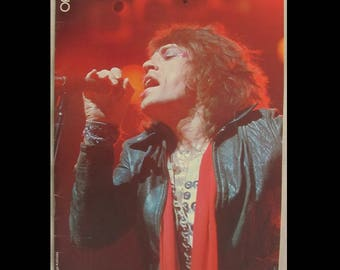 Rolling Stones 1975 Tour Of The America's Officail Concert Tour Program