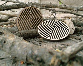 Circular Native Wood Ring
