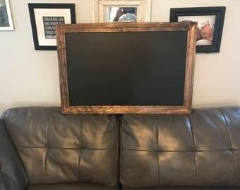 Custom sized chalkboard