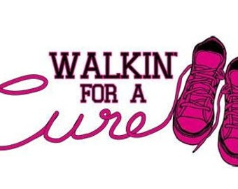 Walkin for a Cure Breast Cancer Awareness Shirt New Various Sizes and Colors Available