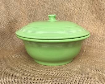 Retired Chartreuse Fiestaware Casserole Dish